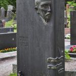Kuva: Arvi Tynys ja Erkki Huttunen, Hj. Nortamon hautamuistomerkki, 1934, pystykuva.