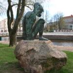 Kuva: Bjørn Nørgaard, Uneksija, 1994, kanalin suuntaan kuvattuna.