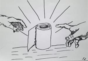 Okl-opiskelija Sampsa Juujärven teos Hamstraus