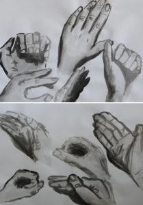 Emmi Lindgren: Käsien maalausta