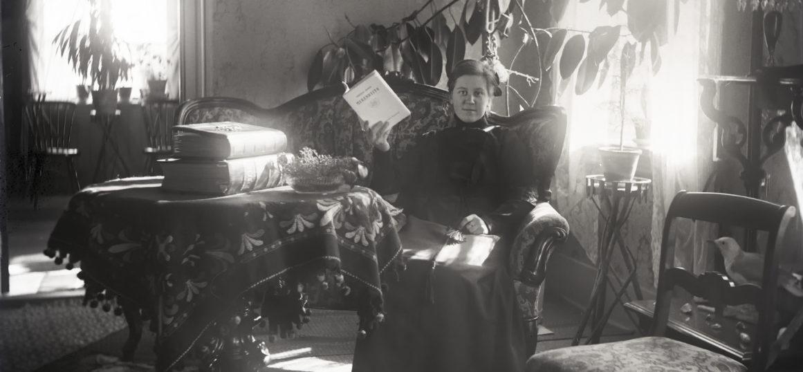 Hanna Heinilä, Self-portrait (1910's)